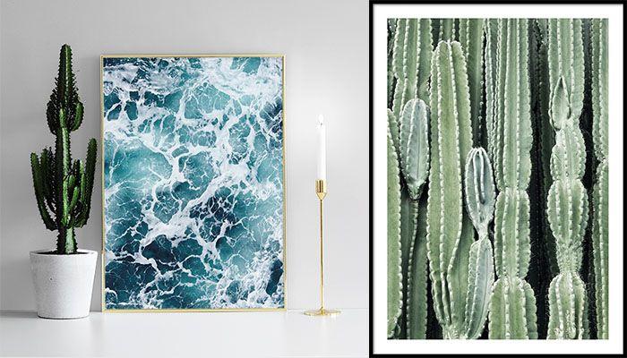 Väggarna. Å dessa väggar som skall prydas med tavlor och speglar och konst. Men vad för konst? Och vilka tavlor? Hur vet man vad man ska hänga upp – och var hittar man det?