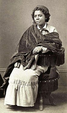 Edmonia Lewis was the first woman of African-American and Native American heritage to achieve international fame and recognition as a sculptor in the fine arts world.