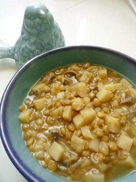 『アダスィー』イランのレンズ豆のスープ