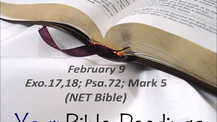 Your Bible Readings for February 9