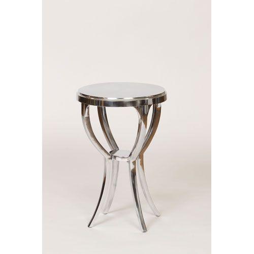Knox U0026 Harrison Cast Aluminum Round Side Table