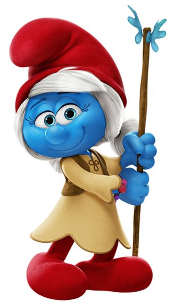 Willow Smurfs The Lost Village Transparent PNG Image