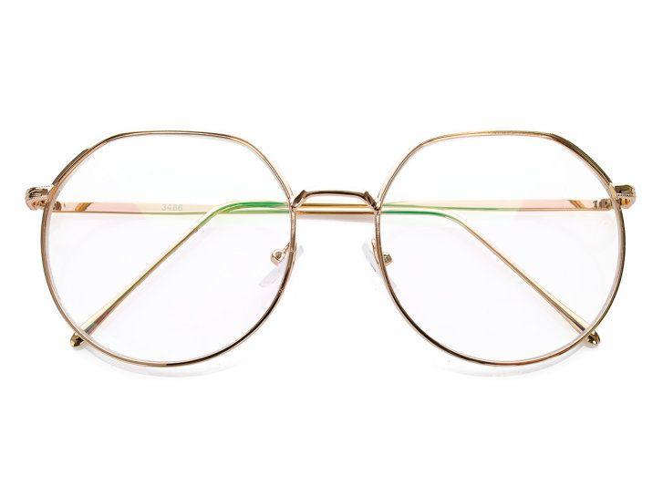 Clair Duze Okulary Zerowki Oversize Born86 Glasses Glass Round Glass