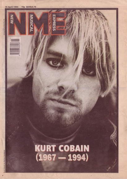 NME Kurt Cobain cover 16th april 1994