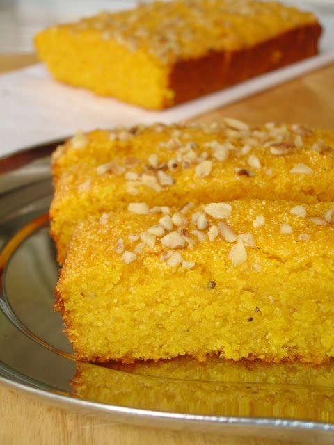 Пирог из манго и банана