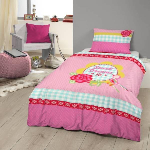 17 beste idee n over roze dekbed op pinterest dekbedden oudroze en roze beddengoed - Mooi slaapkamer meisje ...