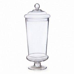 Glass Candy Jar GJ007