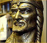 Attila The Hun's  statue, Hungary