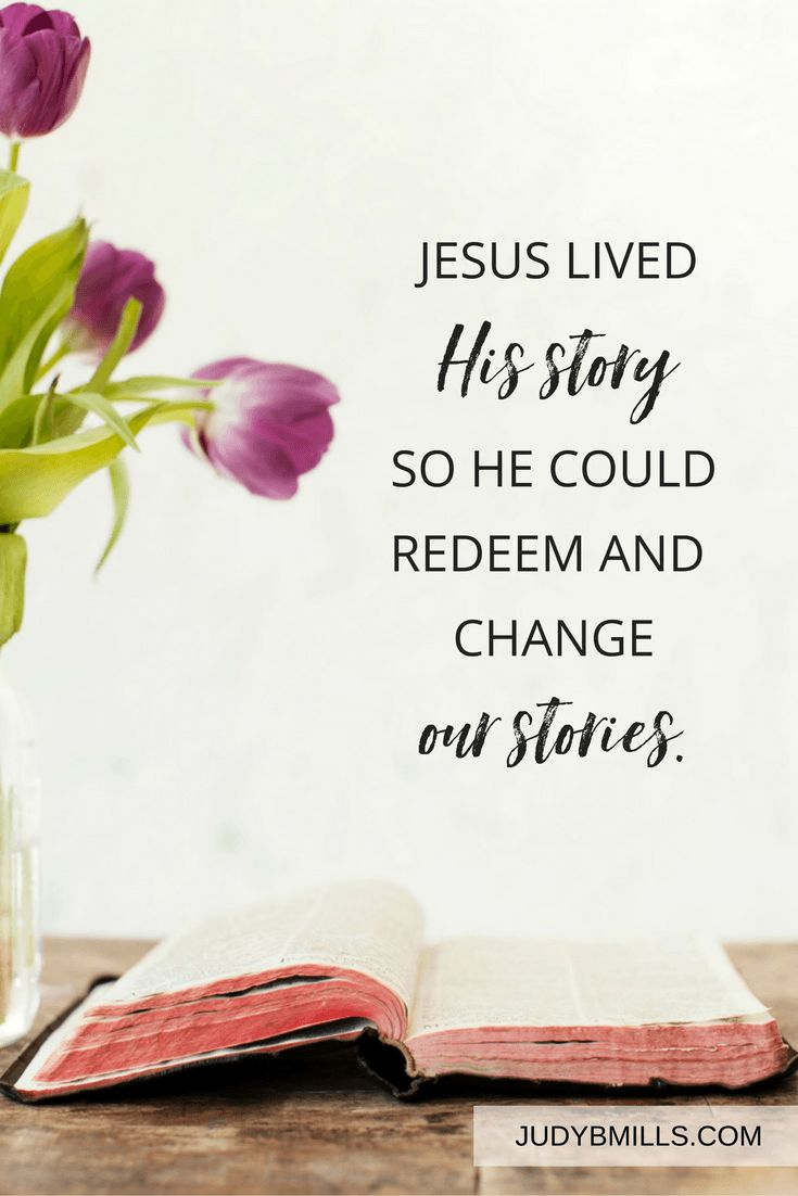 Jesus continues to live His story seeking to redeem and bring great beauty to your story. Bible study lessons from the books of Genesis, Luke, John, 2 Corinthians, and Hebrews.