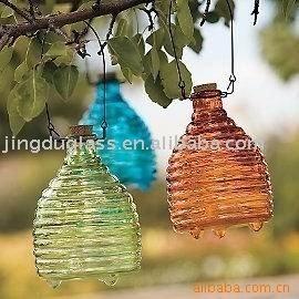 Glass Bee Catcher -they really do work, I love mine!
