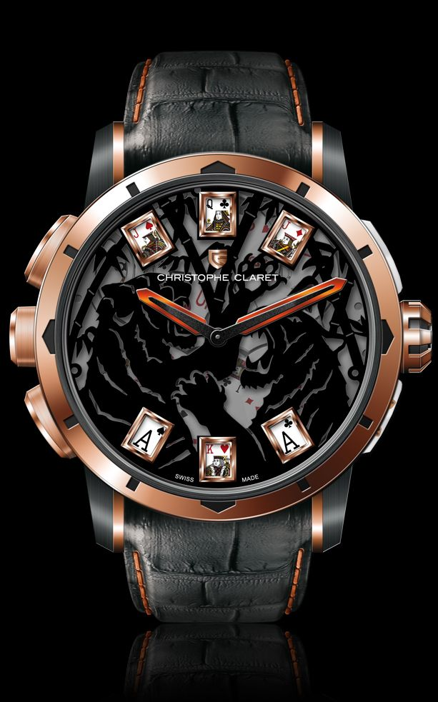 Christophe Claret Baccara (FOLLOW MY BOARDS FOR HIGH QUALITY PHOTOS AND CONTENT http://www.pinterest.com/drummernick0151/)
