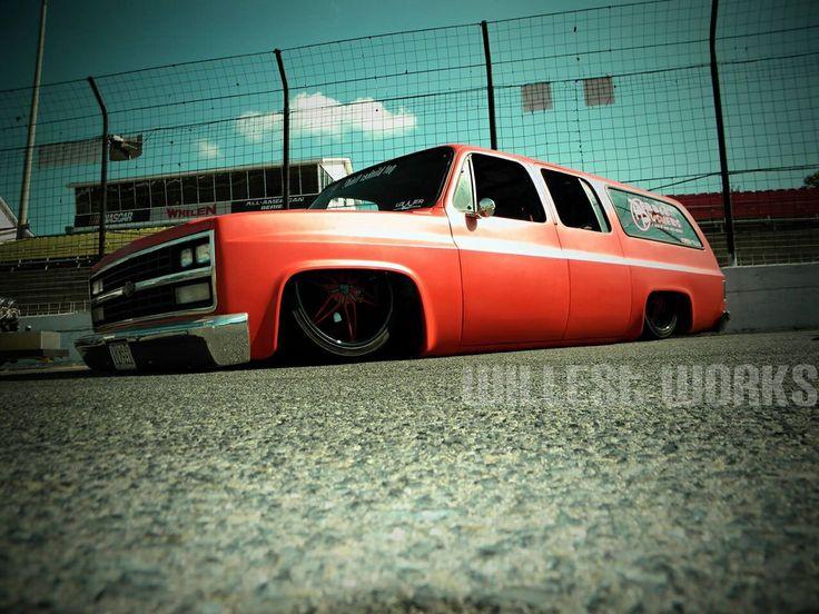 Bagged Chevy Suburban Trucks Pinterest Chevy