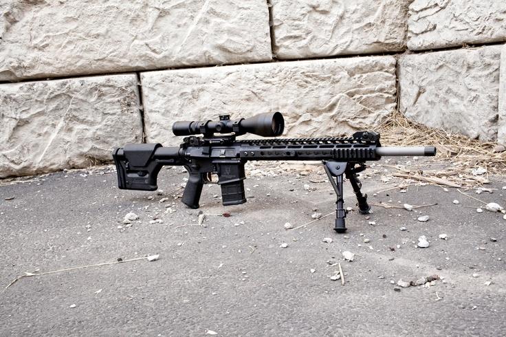 Nosler Varmageddon AR built by Noveske Rifleworks   http://varmageddon.com/