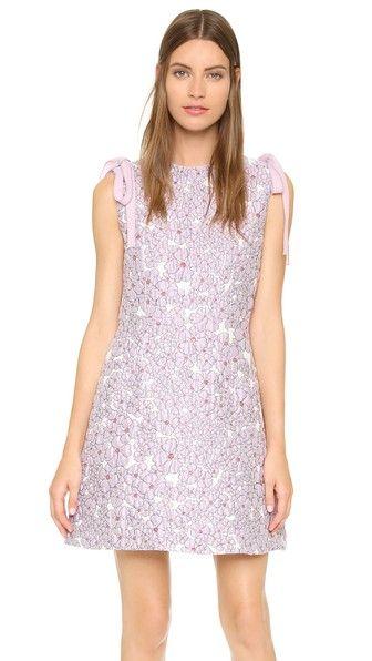 Giamba lilac floral dress lavender