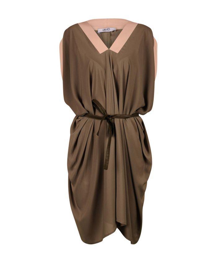 Liu Jo Haki V Yaka Bohem Elbise #elbise #dress #yazlıkelbise #summerdress #uzunelbise #italyan #liujo #madeinitaly #fashion #trend #style #look #moda #2016modası  1 Repin