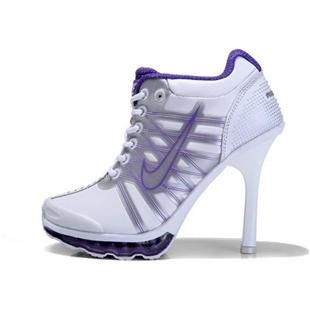 http://www.asneakers4u.com/ Nike Air Max High Heels Purple White