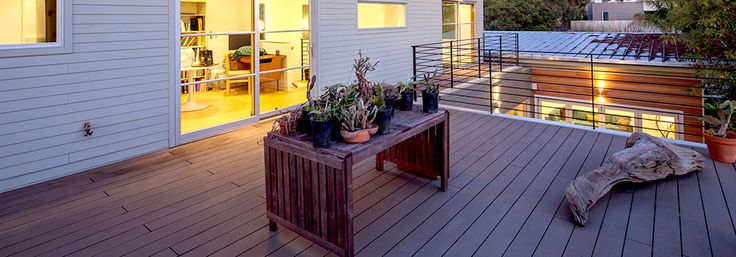 10 best decking images on pinterest bamboo composite for Compare composite decking brands