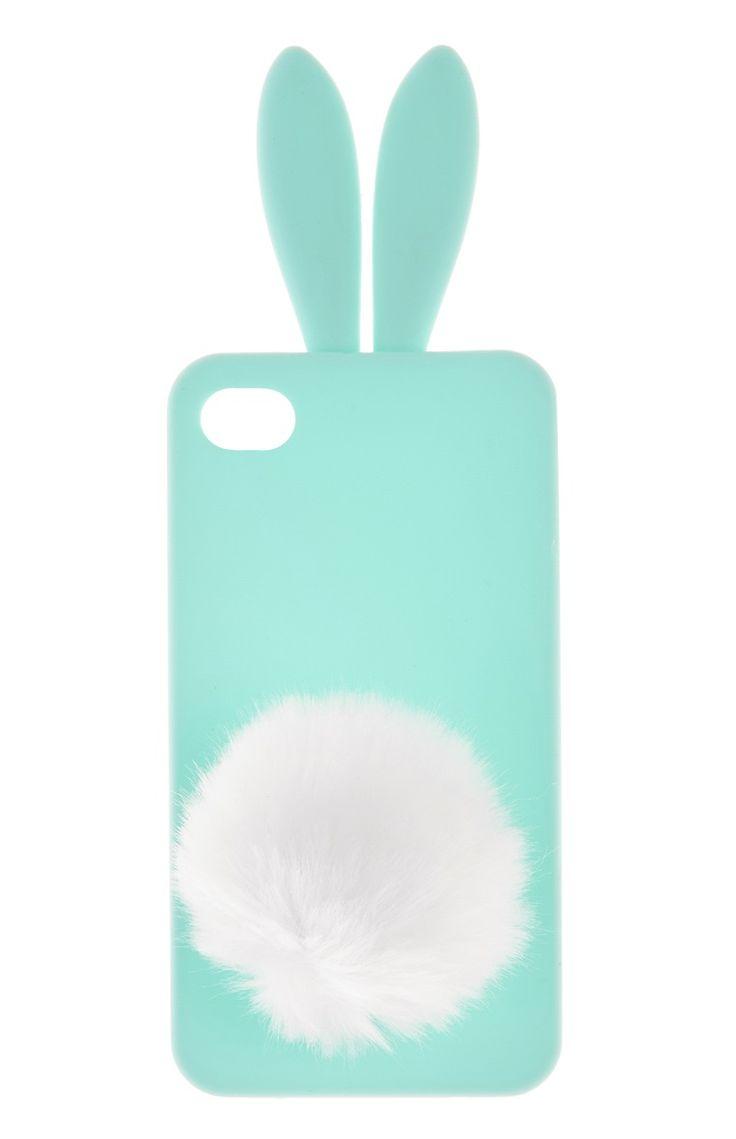 Primark - Capa iPhone 4 rabo de coelho 2.5 €