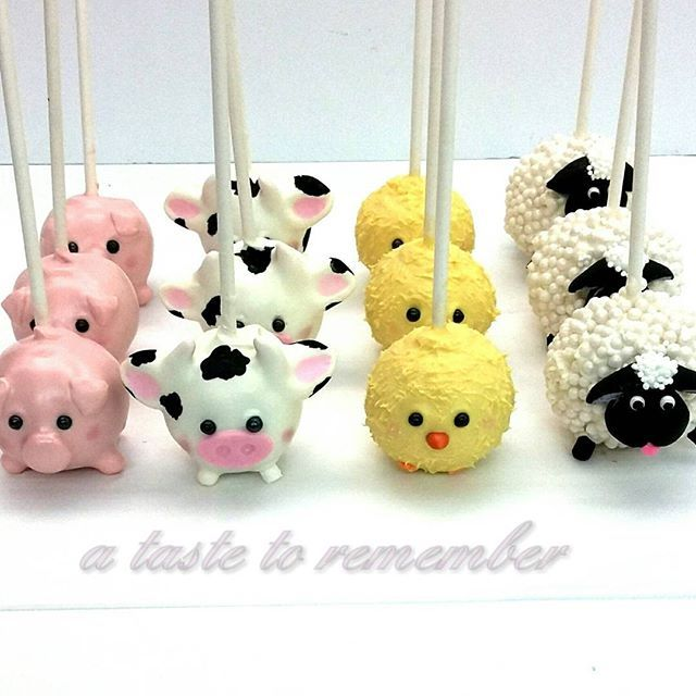 These cake pops are so cute!