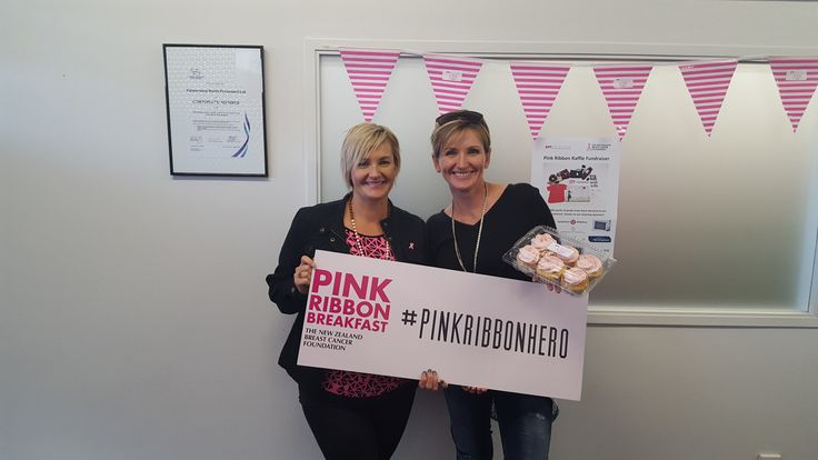 Thanks to Tasha for being a #pinkribbonhero ! We appreciate your support so much :)