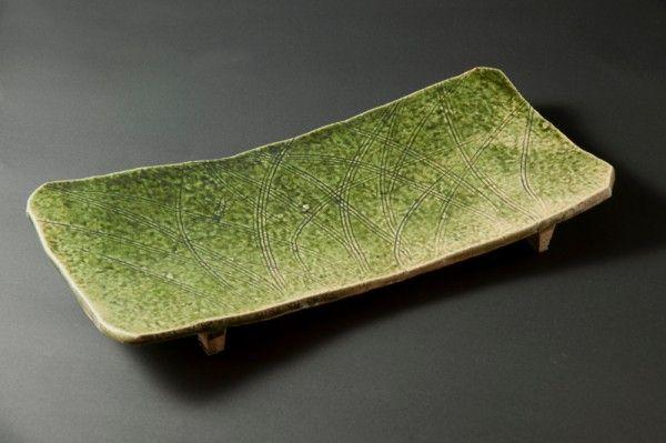 """L'Art de Rosanjin, génie de la cuisine japonaise Œuvre exposée lors de l'exposition """"L'art de Rosanjin, Génie de la cuisine japonaise"""" du musée Guimet."""
