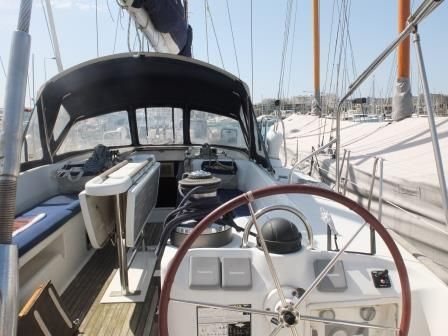 cockpit area detail of Cochiel SailYacht, great beneteau 50, 15 mt long,   to charter it mycochielATgmail.com  check www.facebook.com/cochielsailyacht