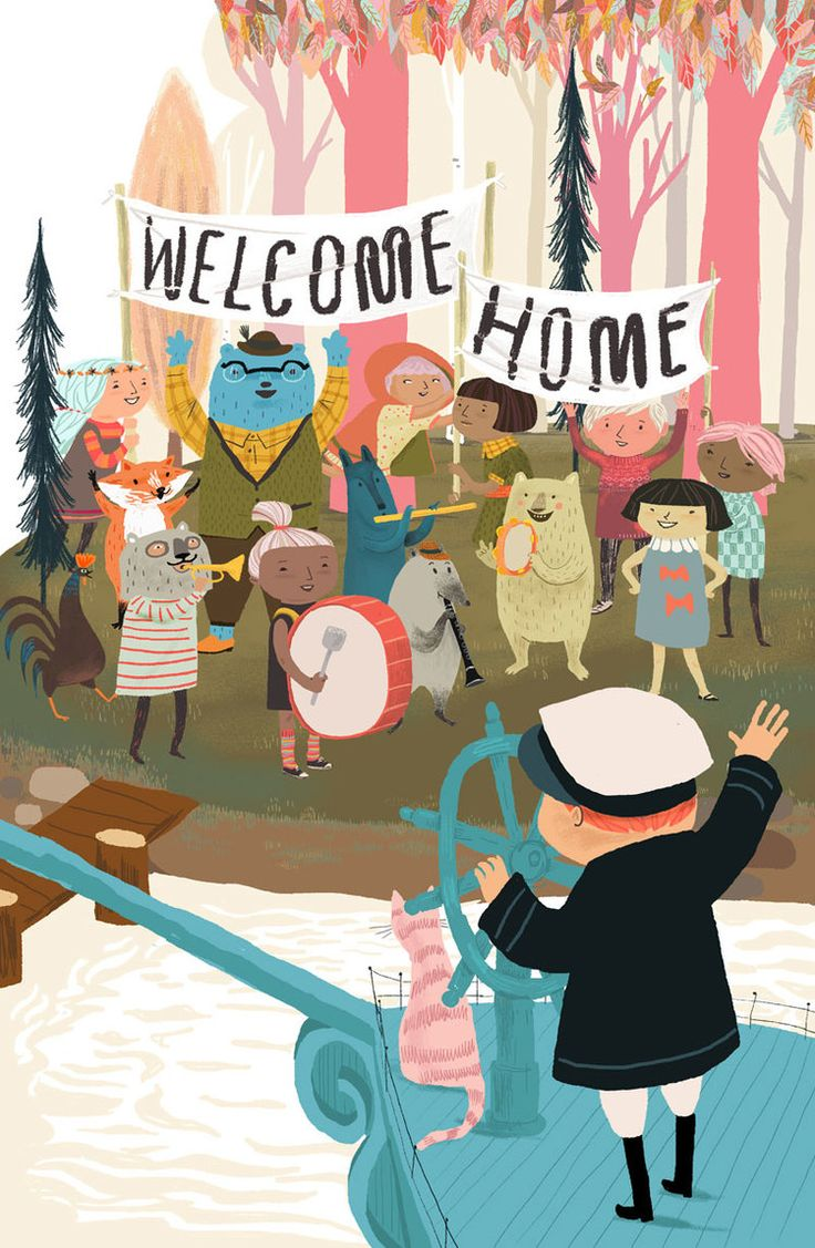 """richters: """" Welcome Home by Jen Hill """""""