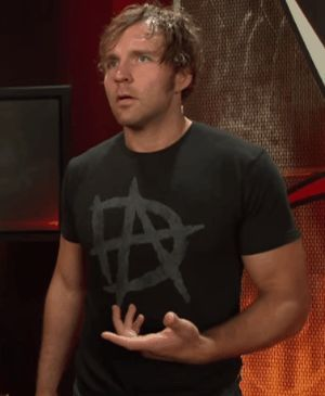 Dean Ambrose is so Perfect. He looks so Confused in this gif and looks at the camera like he doesn't want to be filmed and doesn't know what is happening