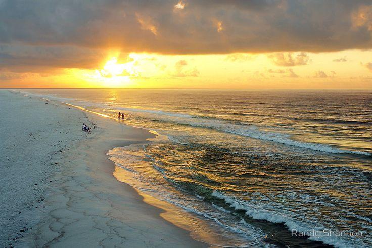 Gulf Shores Sunrise 4 by Randy Shannon