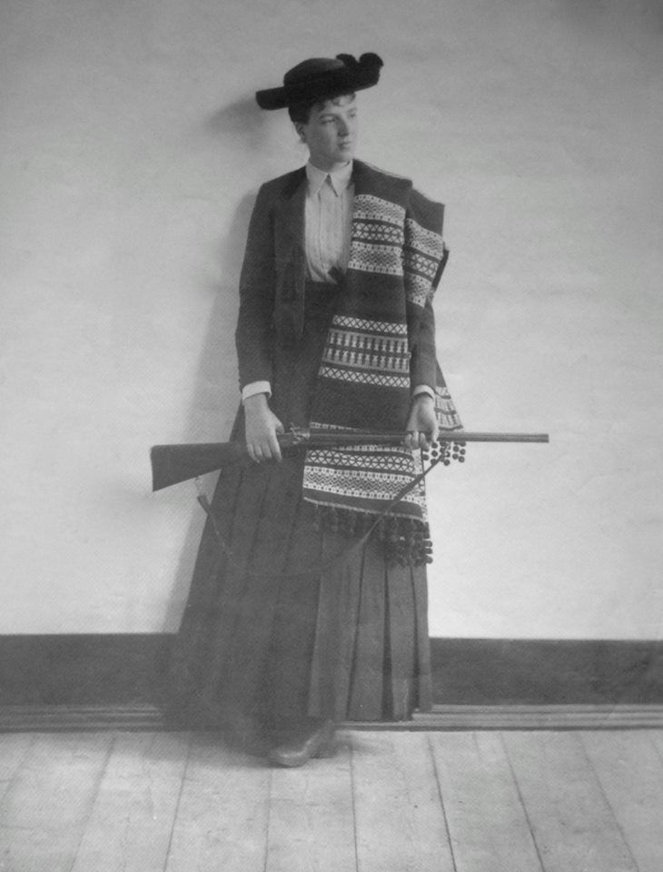 Dona Amélia Amélie d'Orleans, Princess Royal of Portugal, in traditional costume. 1888. Via Sacala Regia