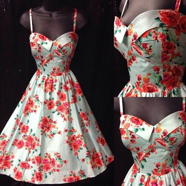 You'll be absolute perfection in the pin up ready vintage-inspired swing dress! #blamebetty #swingdress #stopstaring