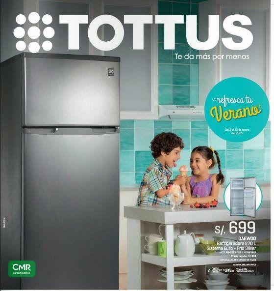 Catalogo Tottus: Electrodomesticos Enero 2015