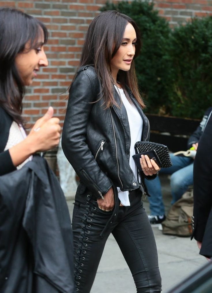 Actress Maggie Q is seen leaving her hotel in New York City, New York