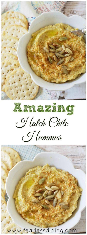 Hatch Chile Hummus http://fearlessdining.com http://fearlessdining.com2015/09/02/hatch-chile-hummus/?utm_content=bufferfde0a&utm_medium=social&utm_source=pinterest.com&utm_campaign=buffer