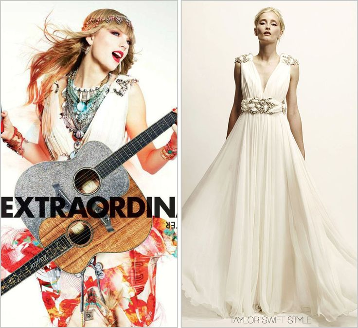 Diet Coke ad | October 2013 Marchesa Resort 2010 It seems that the people of Diet Coke are both aware of Taylor's love for her acoustic Taylor Guitars as well as for the luxurious, uber-feminine...