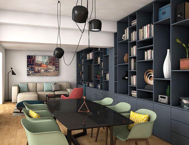 Rouen Joli Bercail Agence D Architecture D Interieur A Paris Agence Architecture Deco Maison Architecture Interieure