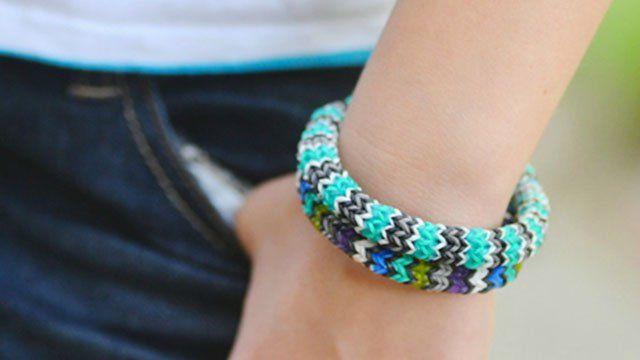 Mon bracelet en élastiques