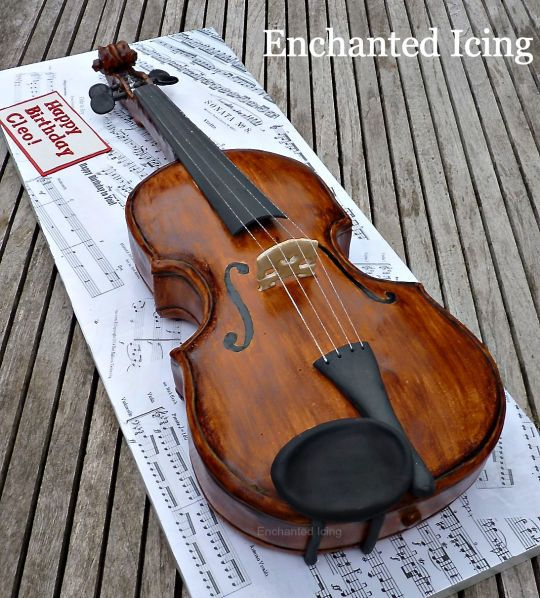 Best 25+ Violin Cake Ideas On Pinterest