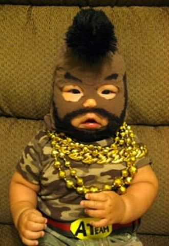 Mr. T: Laughing, Babies, Halloween Costumes Ideas, First Halloween, Kids Halloween Costumes, Baby Costumes, Baby Halloween Costumes, Asian Baby, Funny Baby