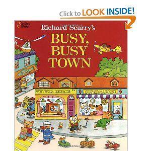 Richard Scarry is a kiddo fav!