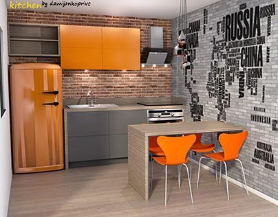 "Check out new work on my @Behance portfolio: ""kitchen la"" http://be.net/gallery/32535017/kitchen-la"