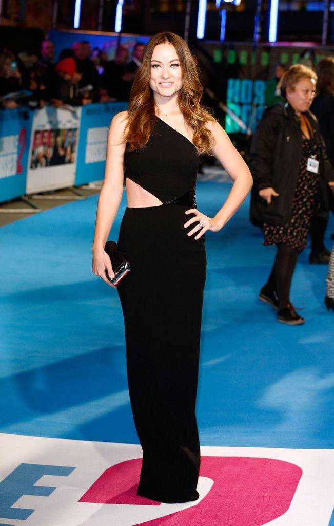 Оливия Уайлд на премьере фильма (Несносные боссы 2), Лондон 2014