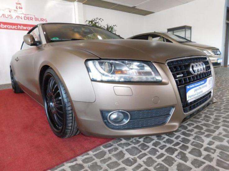 Audi A5 Cabriolet 3.0 TDI quattro -Automatik - Navi