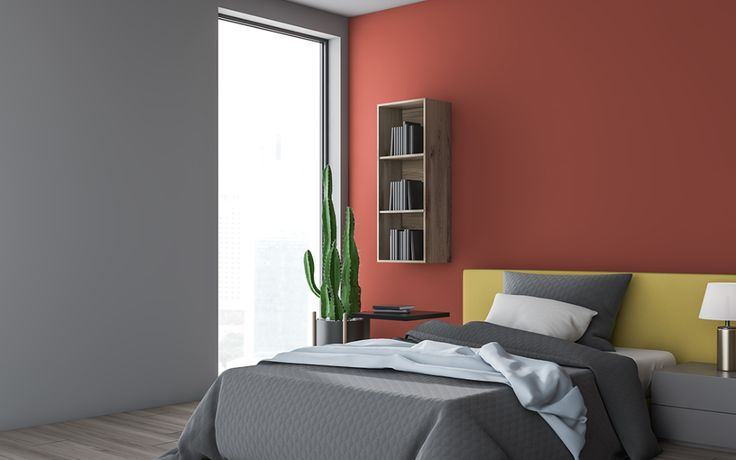 Two Colour Combination For Bedroom in 2020 | Room color ...