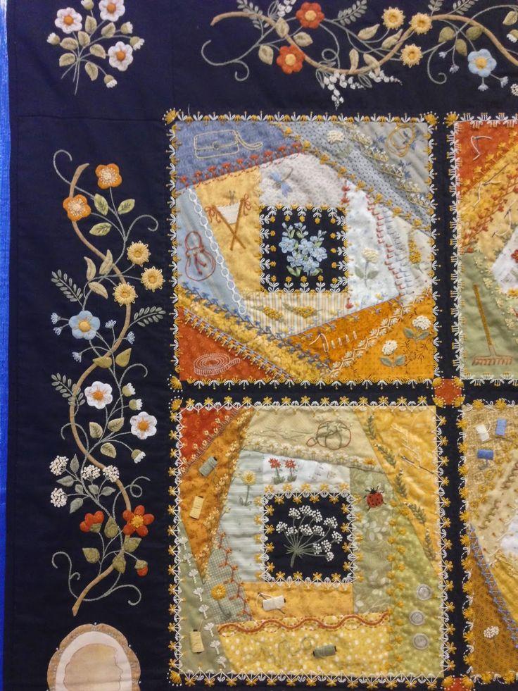 Elisabeth's Garden: A Tale of a Thousand Threads by Elisabeth Frolet bloominginchintz.blogspot.com