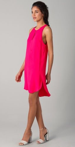 Tank dress: Limsleeveless Tanks, Pink Dresses, Pretty In Pink, Lim Sleeveless, Tanks Dresses, 31 Phillip, Philip Lim, 3 1 Phillip, Phillip Limsleeveless