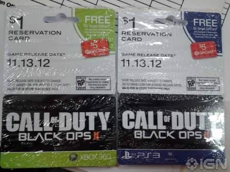 Black Ops 2 release date
