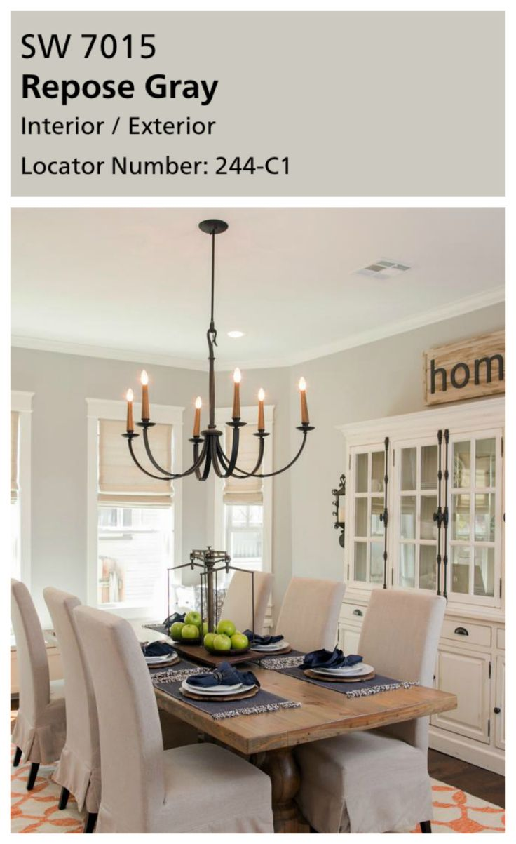 Dining room paint ideas - Every Home Needs A Go To Neutral Wall Color Joanna Loves Using Grays In