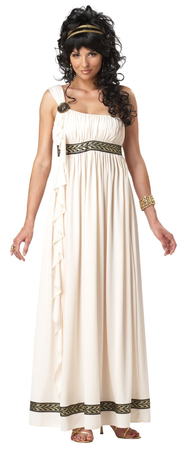 Plus size greek goddess fancy dress