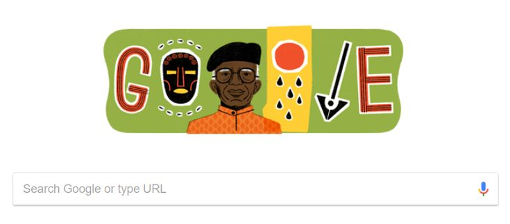 A Google Doodle is a special temporary alteration of the logo on Google's homepage that is intended to celebrate holidays events achievements and people. Late Nigerian author Chinua Achebe has nowbeen honoured by tech giant Google as animportant figure of 20th century literature.  The doodle is marking what would have been Achebe's 87th birthdaytoday November 16.He died in March of 2013 at the age of 82 having collected accolades that included the Man Booker International Prize St. Louis…